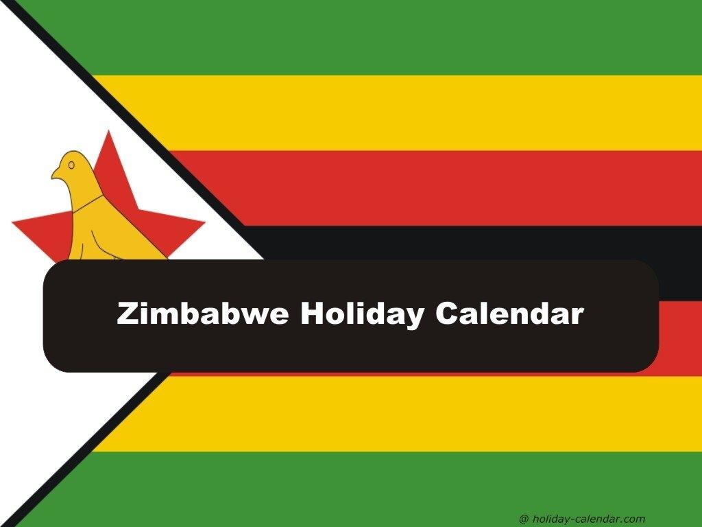 Zimbabwe 2019 / 2020 Holiday Calendar School Calendar 2019 Zimbabwe