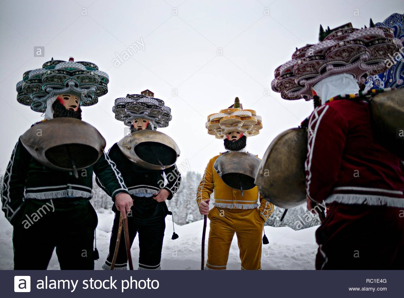 Zurich, Switzerland. 12Th January 2019. People Participate In A Calendar Zurich 2019