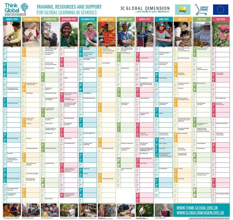 2018 19 Global Wallplanner Is Launched! – News – Global Dimension E&d Calendar 2019