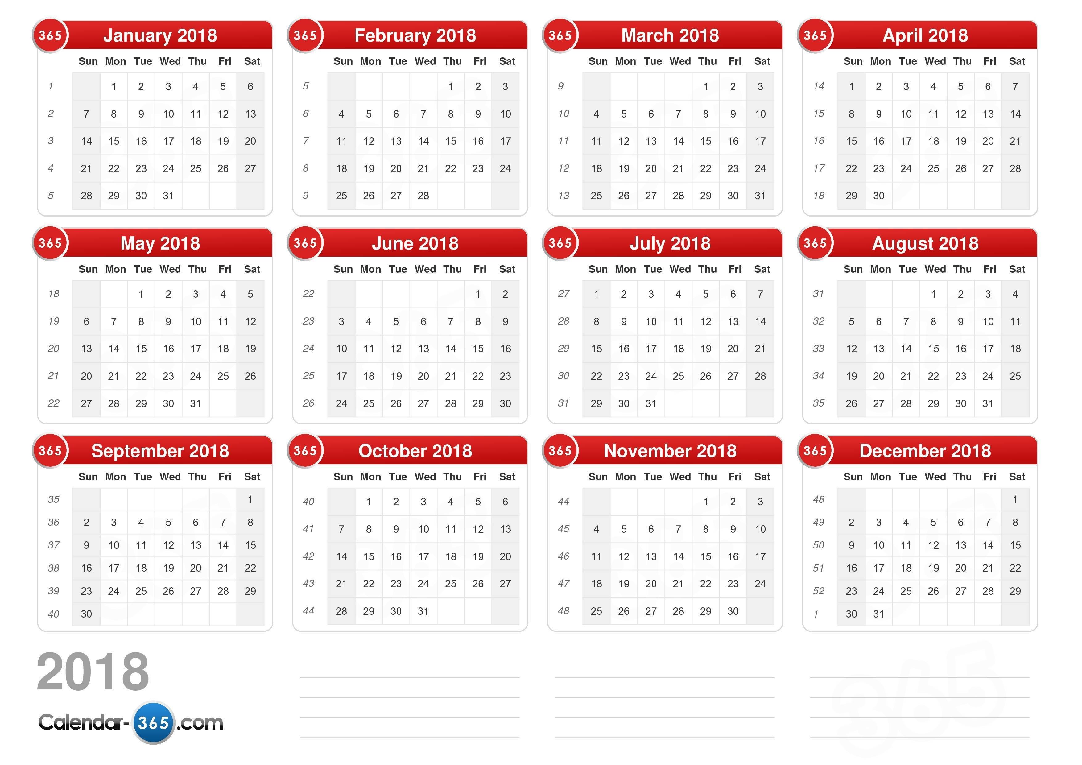 2018 Calendar Calendar 2019 Excel Romania