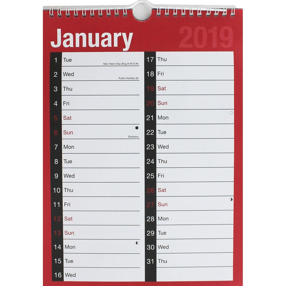 2019 Appointment Calendar   2019 Calendars At The Works Calendar 2019 Buy