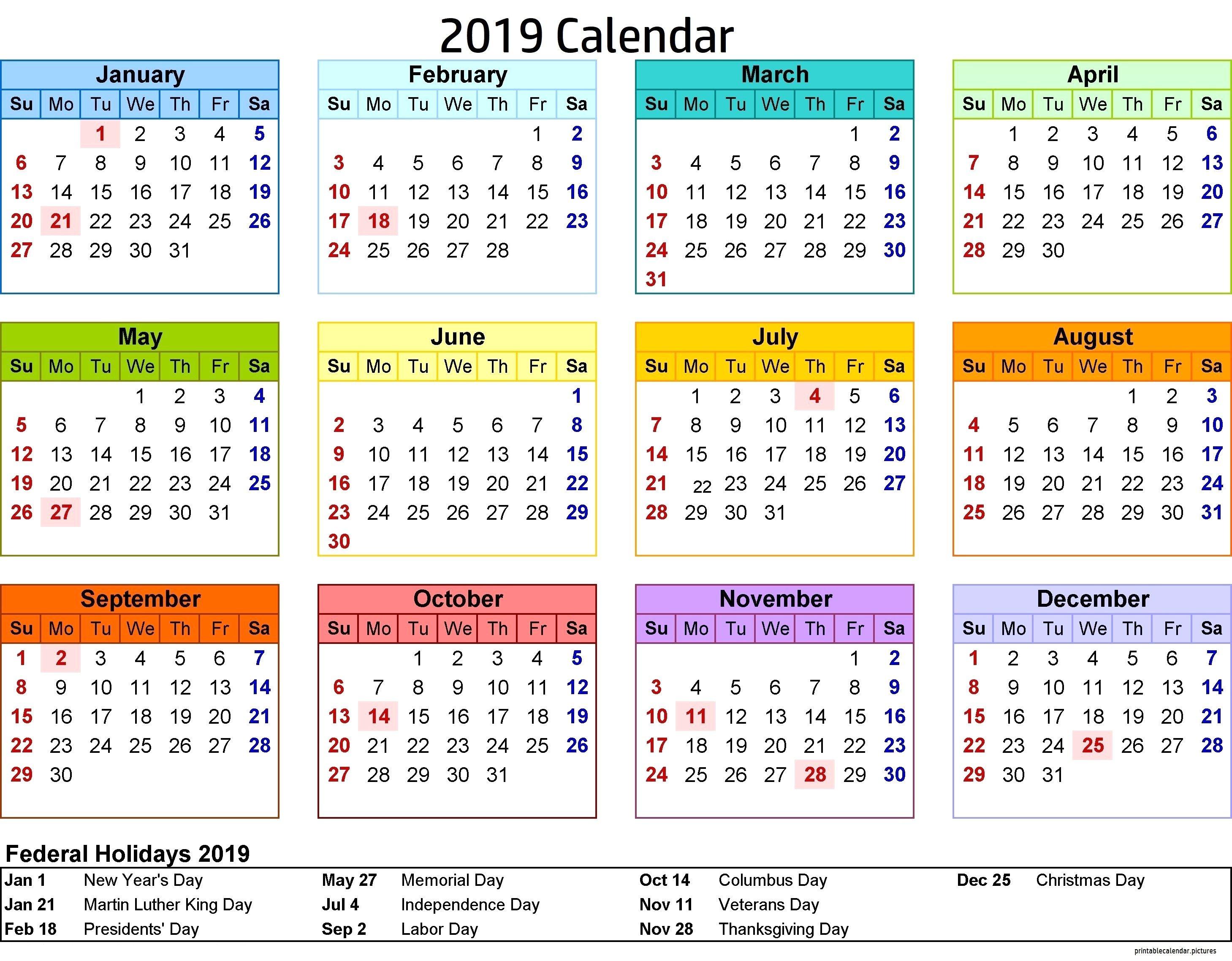 2019 Calendar Philippines With Holidays | Jcreview Calendar 2019 Near Me