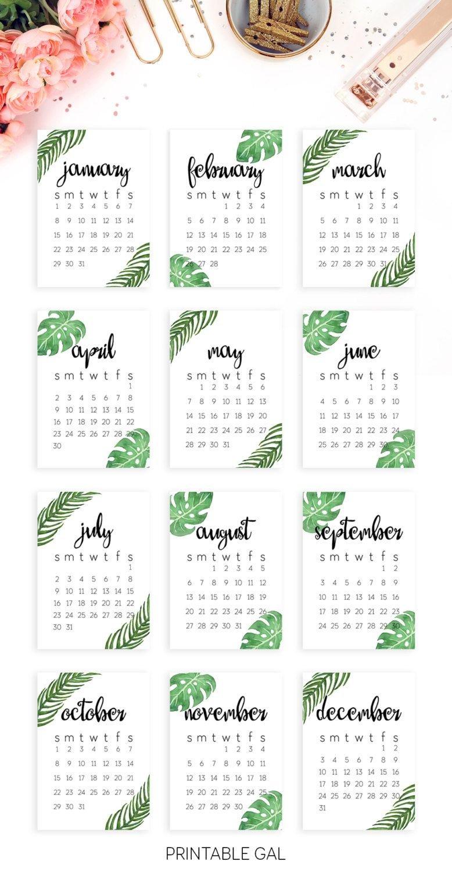 2019 Calendar Template Printable 2019 Wall Calendar Printable 2019 5 X 7 2019 Calendar