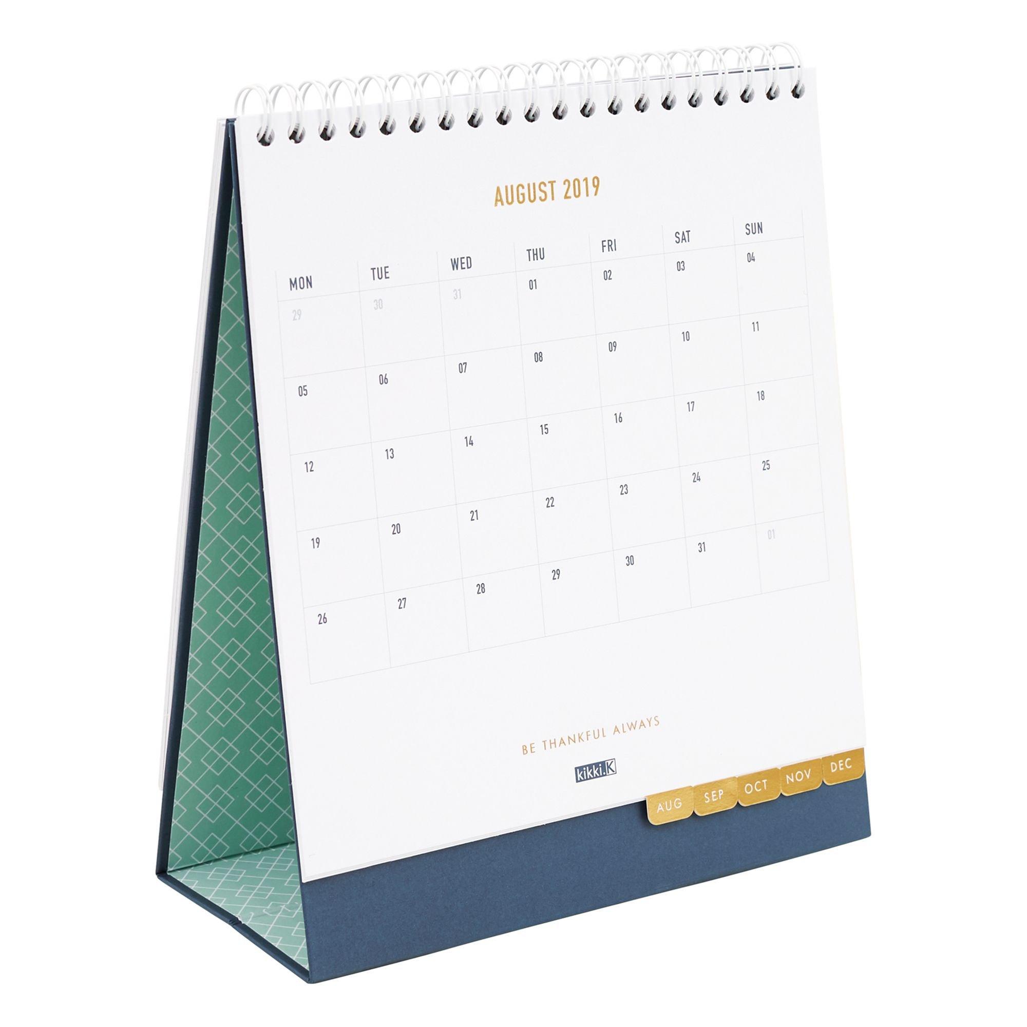 2019 Desk Calendar Ms: Inspiration   Organization   Desk Calendars Kikki K Desk Calendar 2019