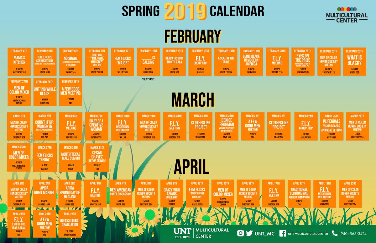 2019 February Newsletter | Division Of Institutional Equity & Diversity E&d Calendar 2019
