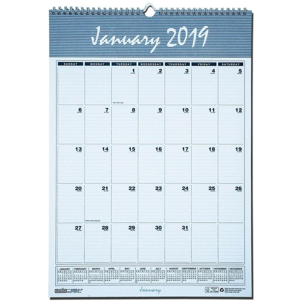 """2019 House Of Doolittle 332 Hod332 Bar Harbor Wall Calendar, 12 X 17""""  40983303361   Ebay Calendar 2019 House"""