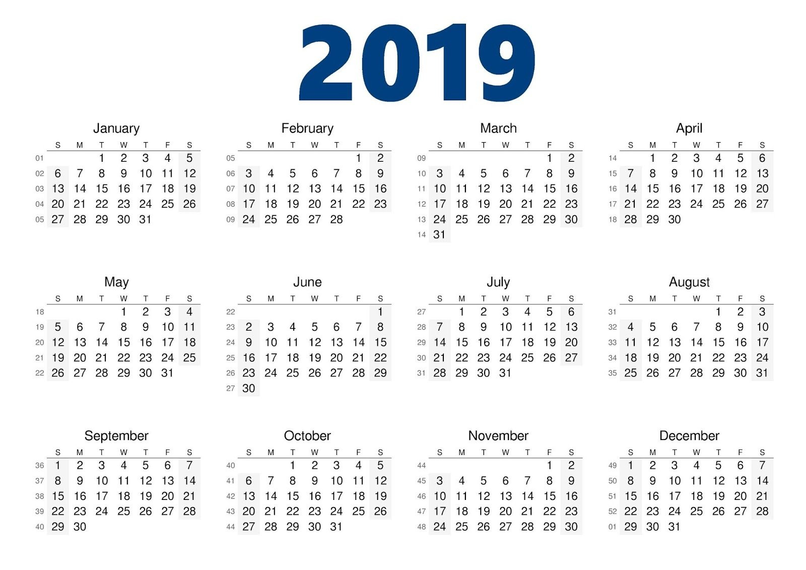 2019 Year Calendar Excel With Malaysia Template Pdf Word December Calendar 2019 Year Excel