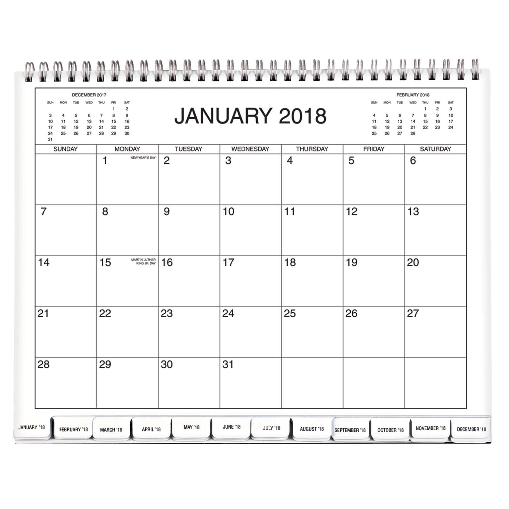 5 Year Calendar 2018 2019 2020 2021 2022 – Monthly Calendar – Walter Calendar 2019 Write In