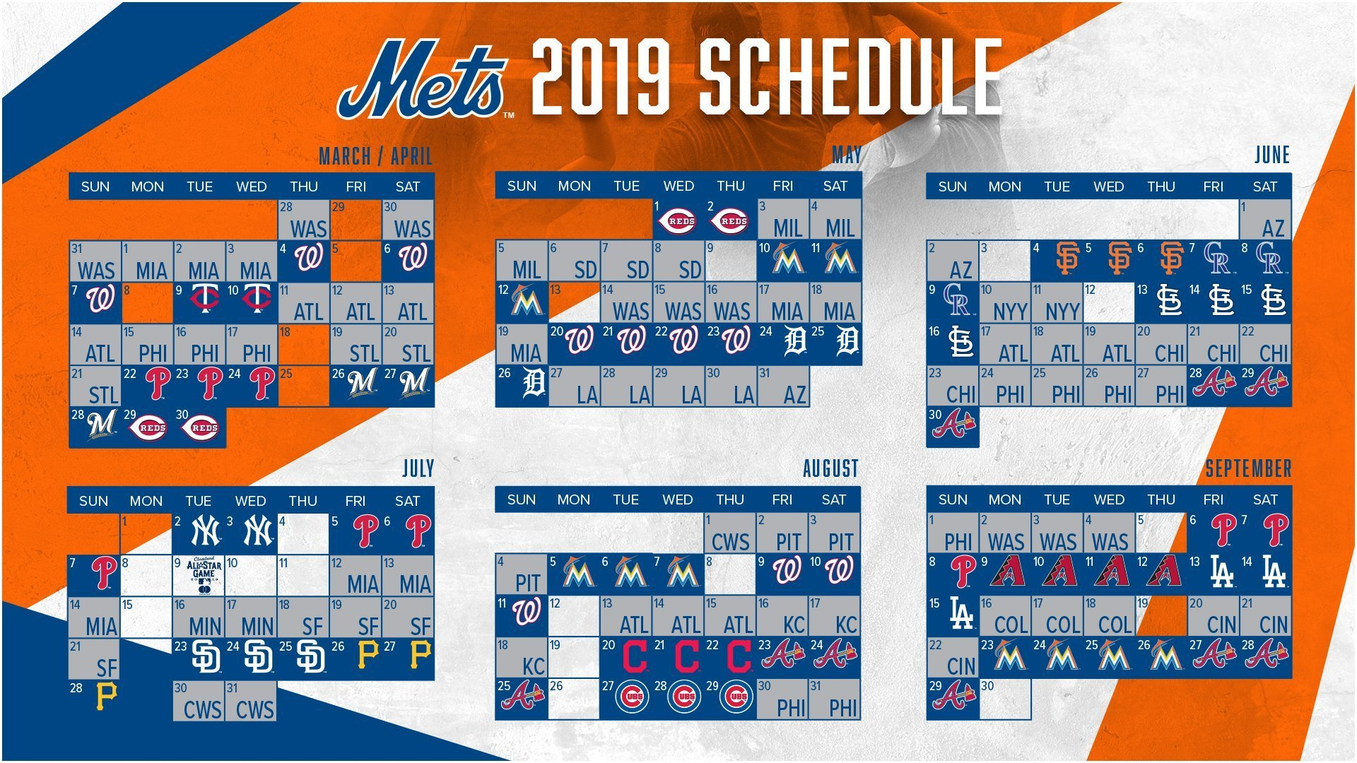 A Trip To The Al Central Highlights The 2019 Schedule For York York U Calendar 2019