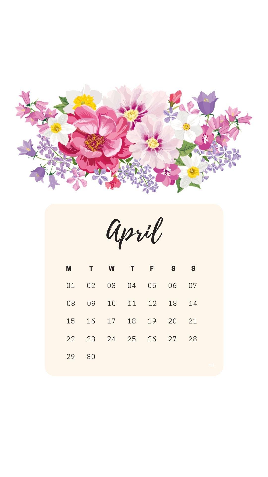 April 2019 Calendar Ipad Wallpaper #april2019 U Of M Calendar 2019
