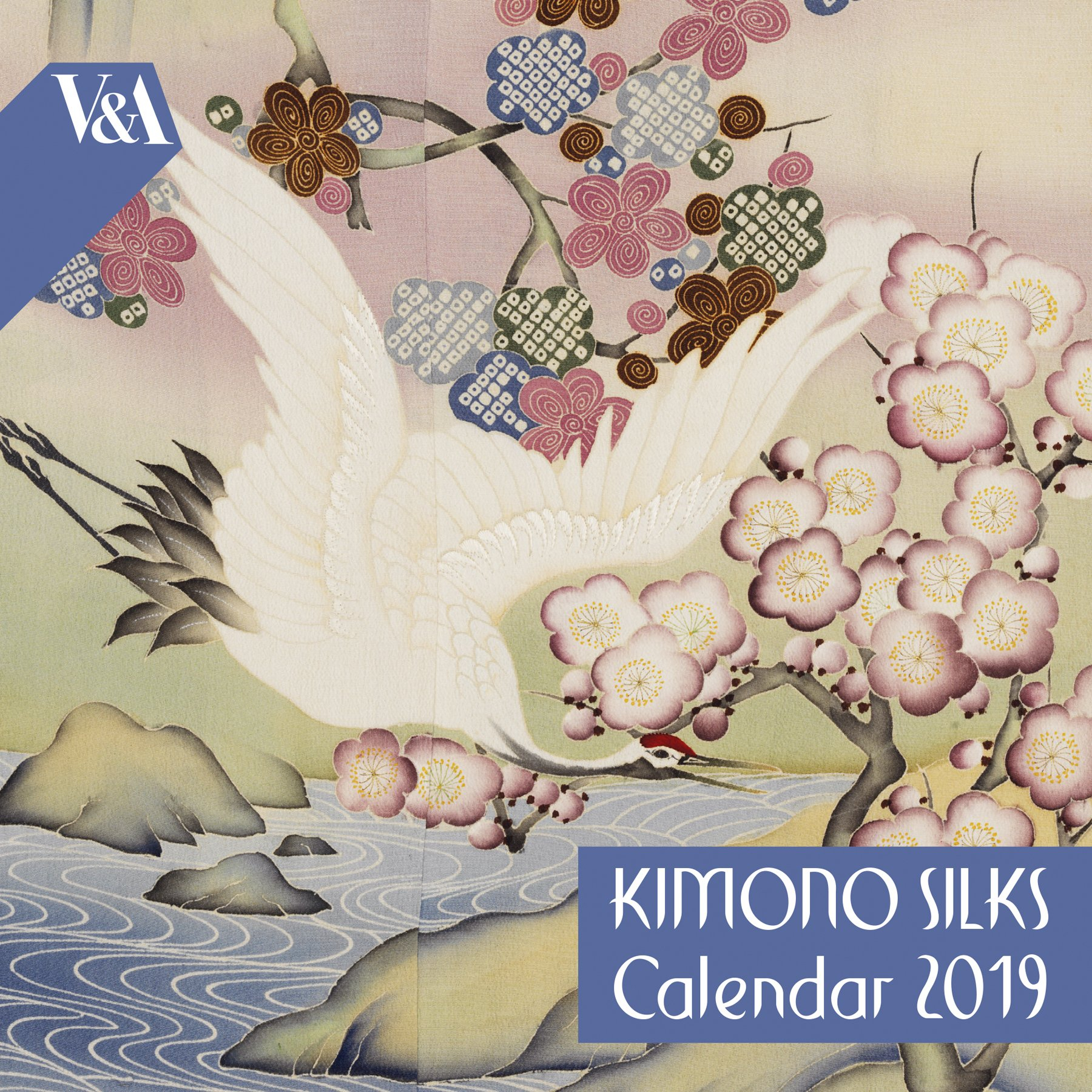 Buy V&a Kimono Silks – Mini Wall Calendar 2019 (Art Calendar) V&a Calendar 2019