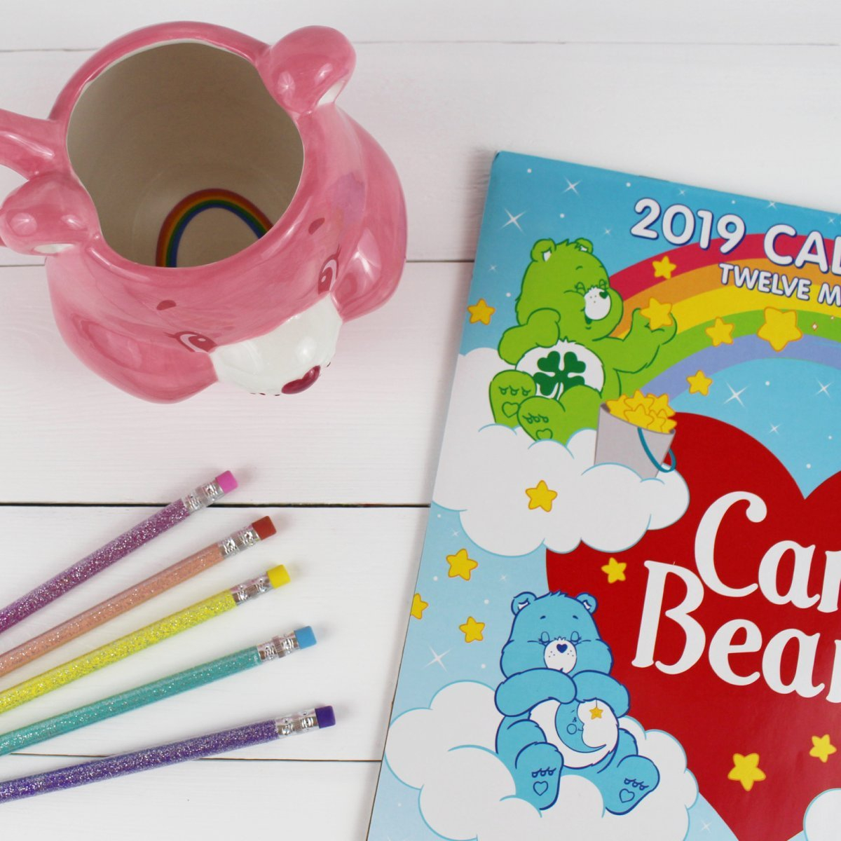 "Care Bears™ On Twitter: ""a #retro Calendar To Help You Get Organized Calendar 2019 Dollar Tree"