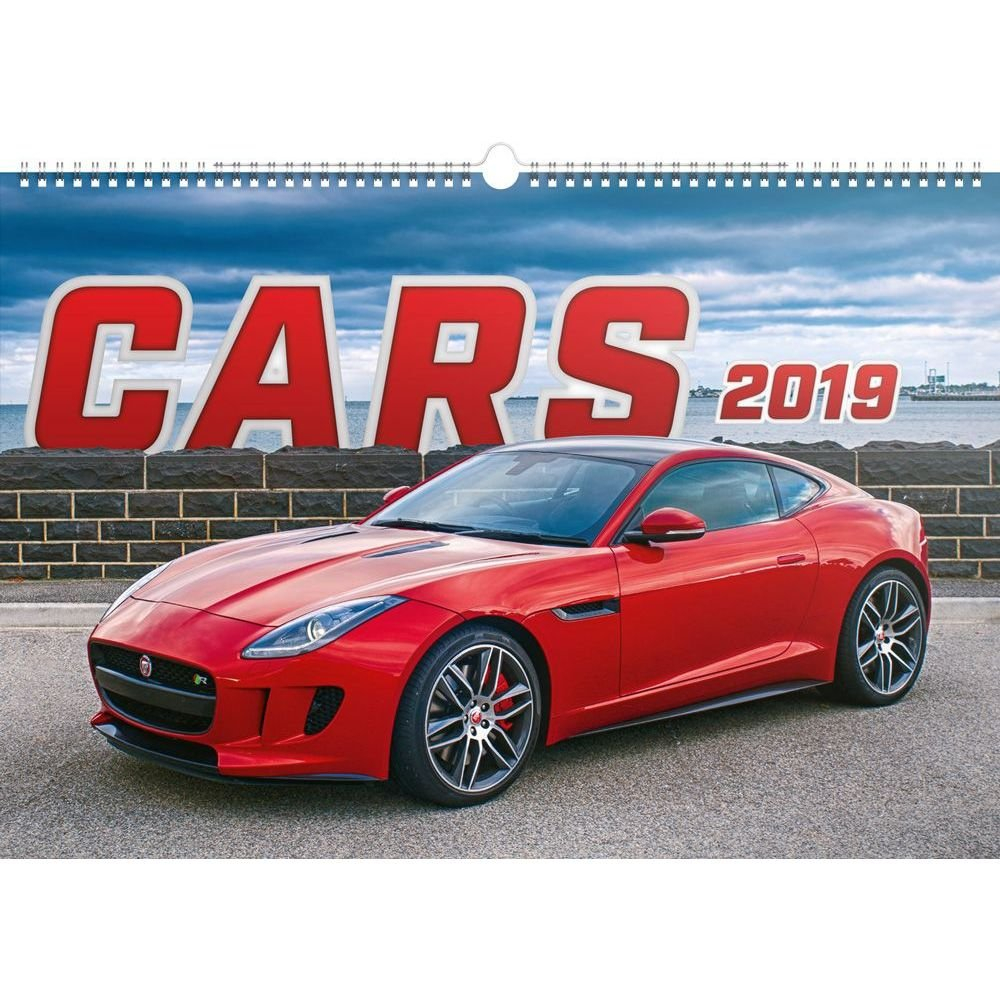 Cars 2019 Poster Calendar-Calendars-Books & Gifts - Foodsniffr Store Calendar 2019 Cars
