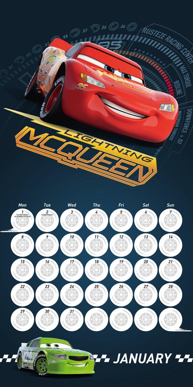 Cars 3 – Calendars 2020 On Ukposters/ukposters Cars 3 Calendar 2019