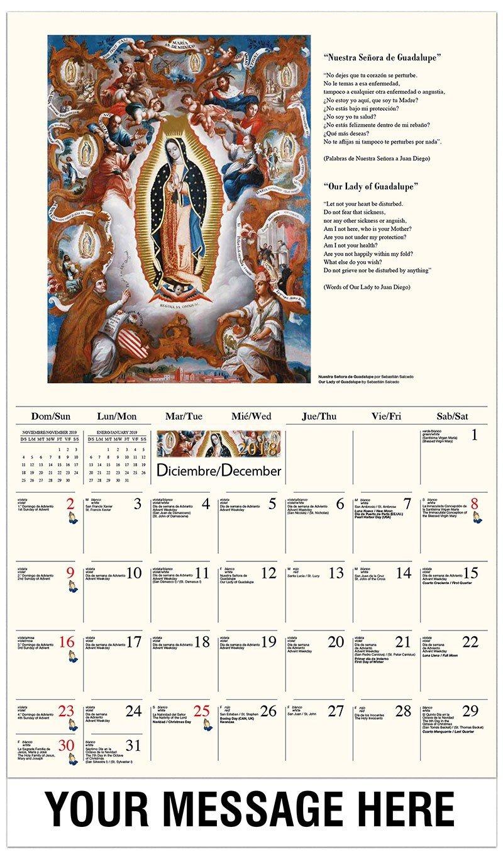 Catholic Inspirations – 2019 Promotional Calendar (Spanish English Calendar 2019 Catholic