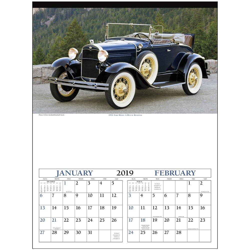 Custom Antique Cars Wall Calendars | X11496 – Discountmugs Calendar 2019 Cars