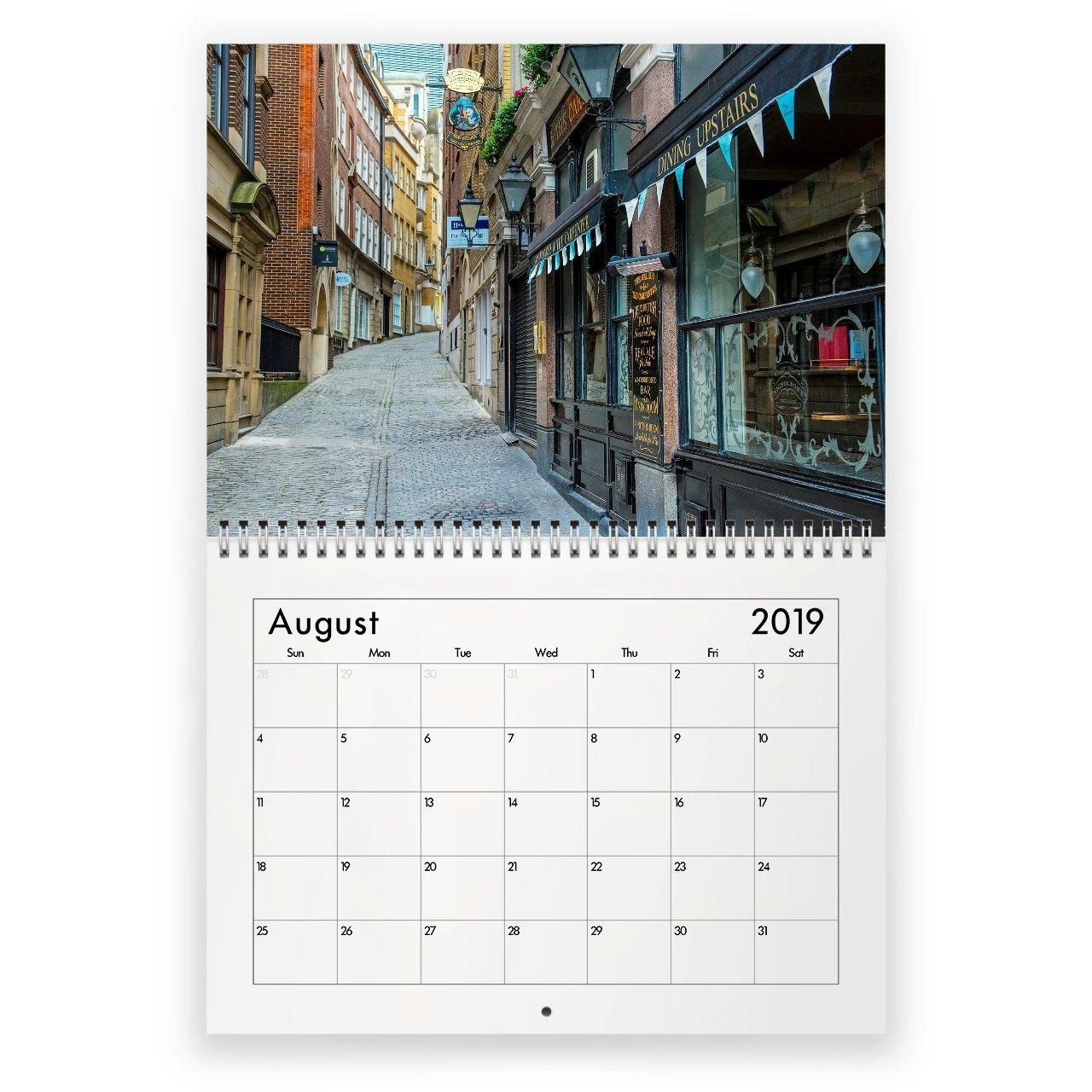 Лондон 2019 Календарь Calendar 2019 London