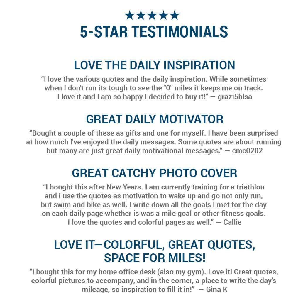 Daily Motivational Quotes For Desk With Amazon Com 2019 Runner S Calendar 2019 Amazon