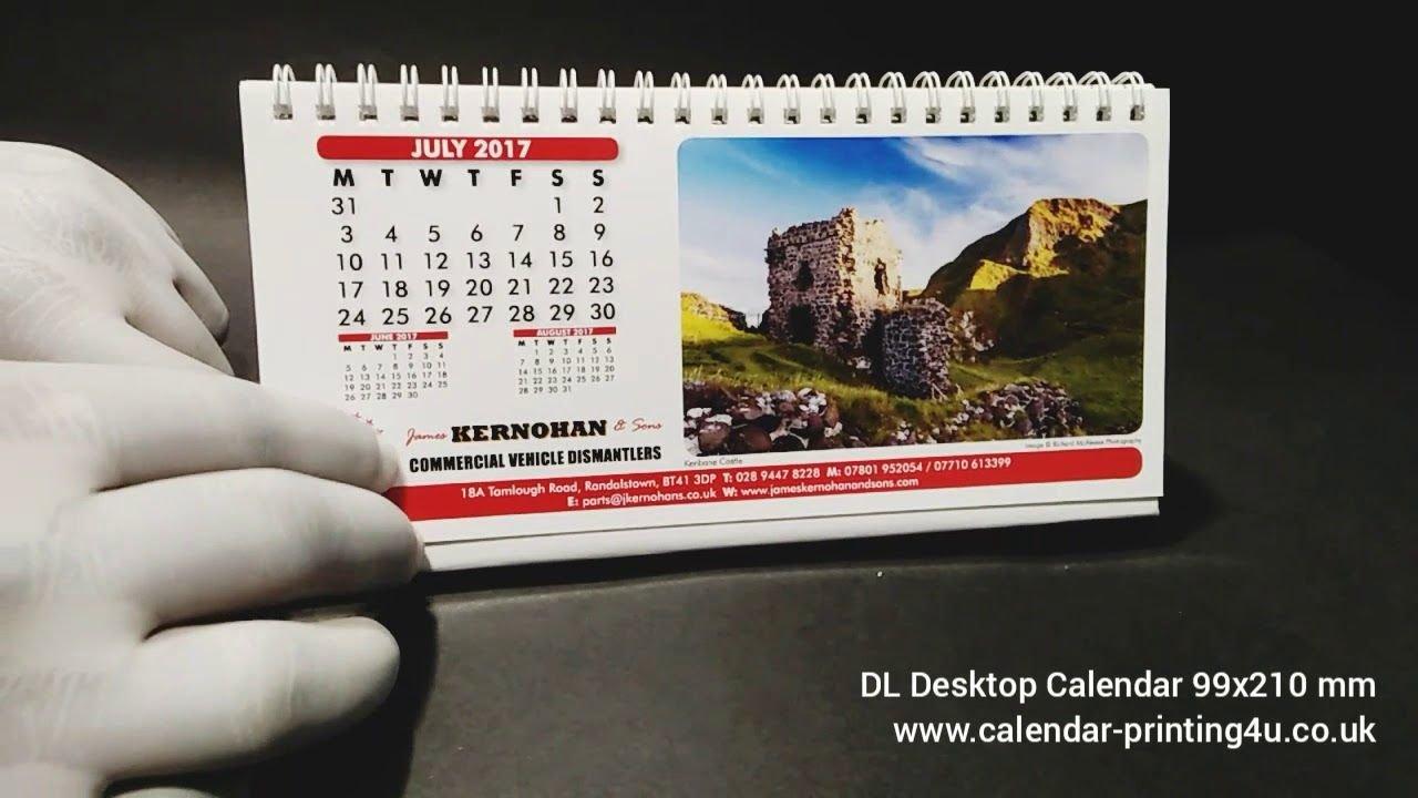 Dl Desktop Calendar For The Year 2019 99 X 210 Mm Bulk Dl #desktop Calendar 2019 Bulk