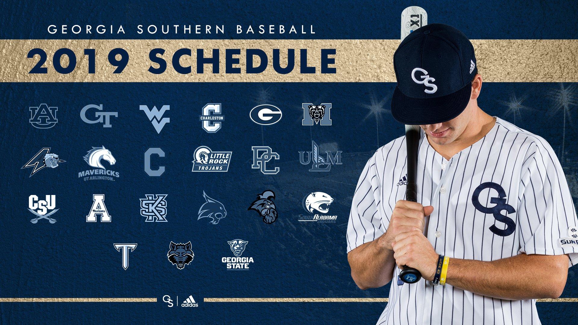 Eagle Baseball Announces 2019 Schedule – Georgia Southern Calendar 2019 Gsu
