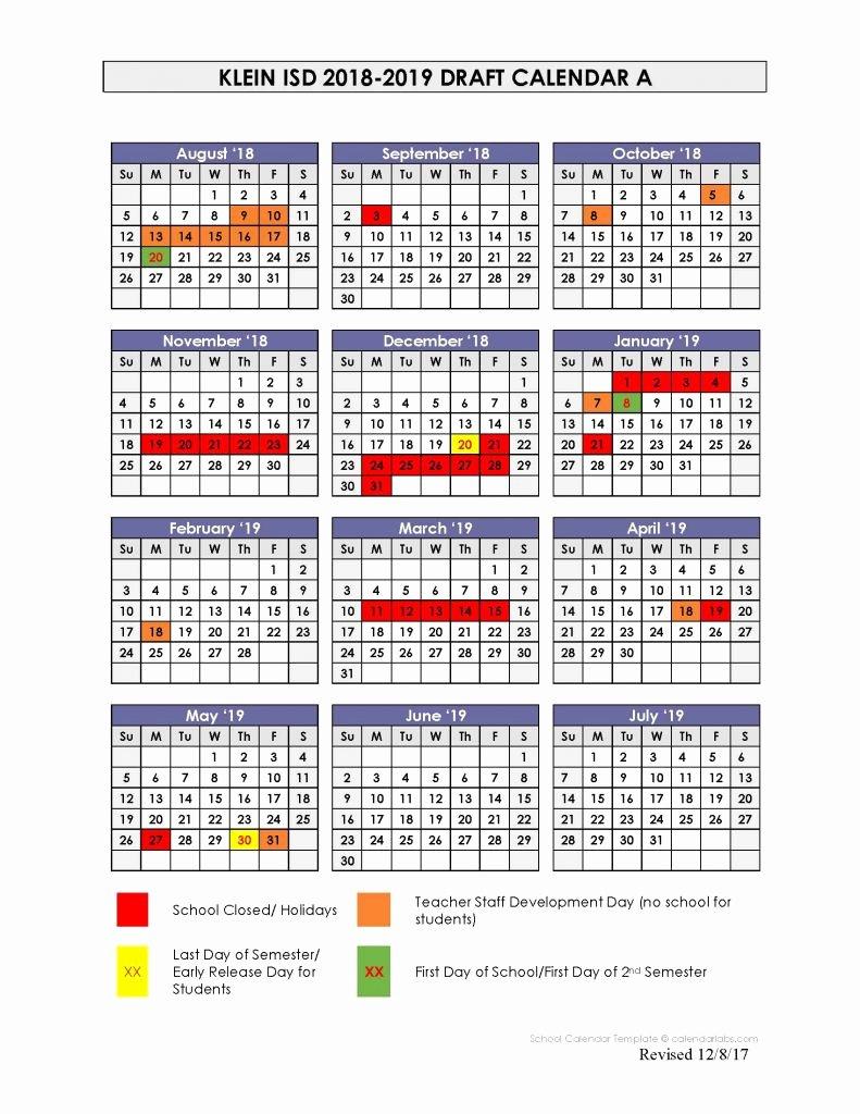 Elegant 32 Examples Lausd 2019 Calendar | Micheleboy Lausd Calendar 2019 20