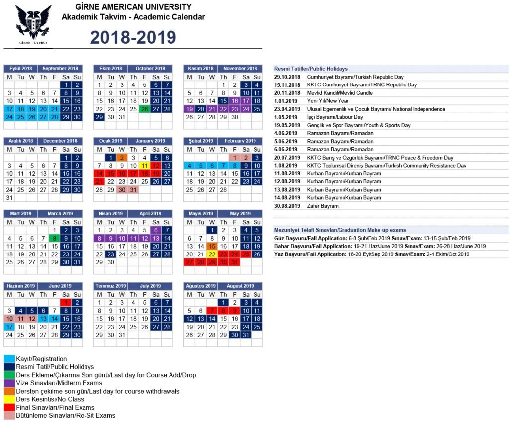 Elegant 45 Design Gsu Calendar 2019   Xunhuagd Calendar 2019 Gsu