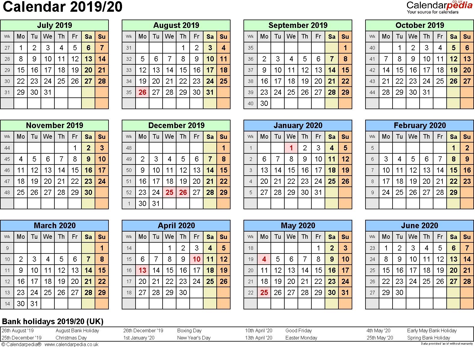 Extraordinary Calendar 2019 And 2020 Nz • Printable Blank Calendar Calendar 2019 Nz