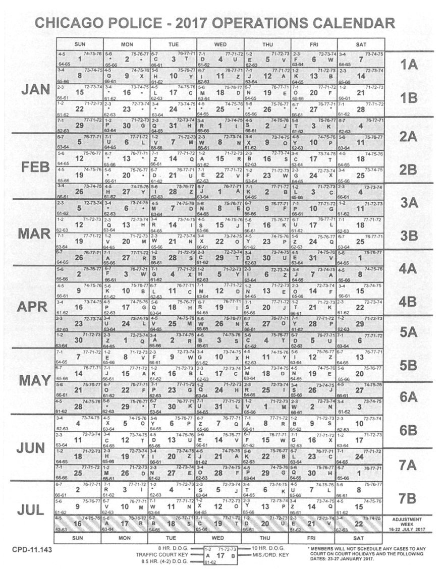Fop Lodge 7 Holiday Calendar   Acquit 2019 Fop Lodge 7 Calendar 2019