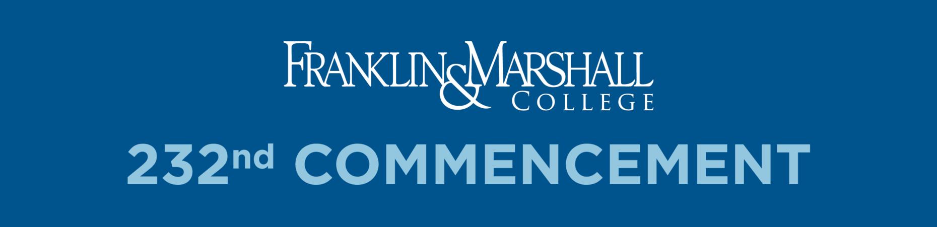 Franklin & Marshall – Commencement 2019 F&m Academic Calendar 2019