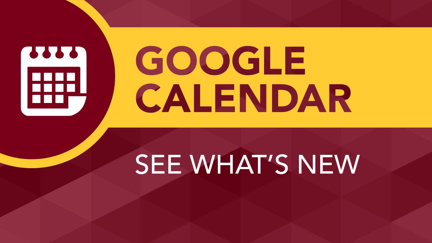 Google Calendar To Get Updated | It@umn Calendar 2019 Umn