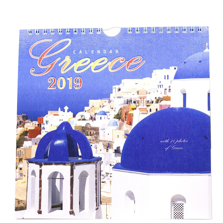 Greece Calendar 2019 – Thessgift Calendar 2019 Greece