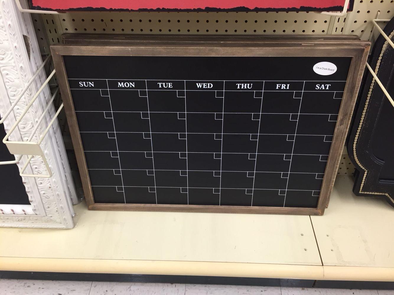 Hobby Lobby-Calendar Chalkboard! Make Sure To Use The 40% Off Coupon Calendar 2019 Hobby Lobby