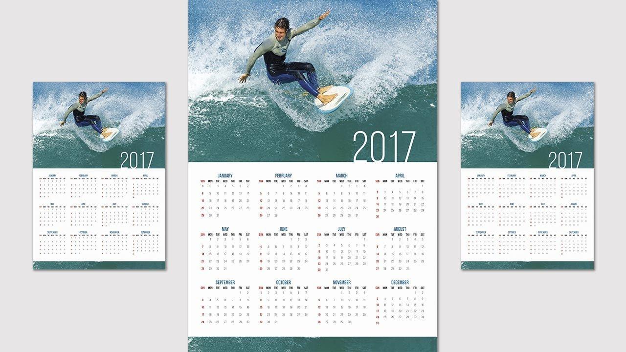 How To Create Or Design A Calendar In Indesign Cc – 2019 – Youtube Calendar 2019 Indesign