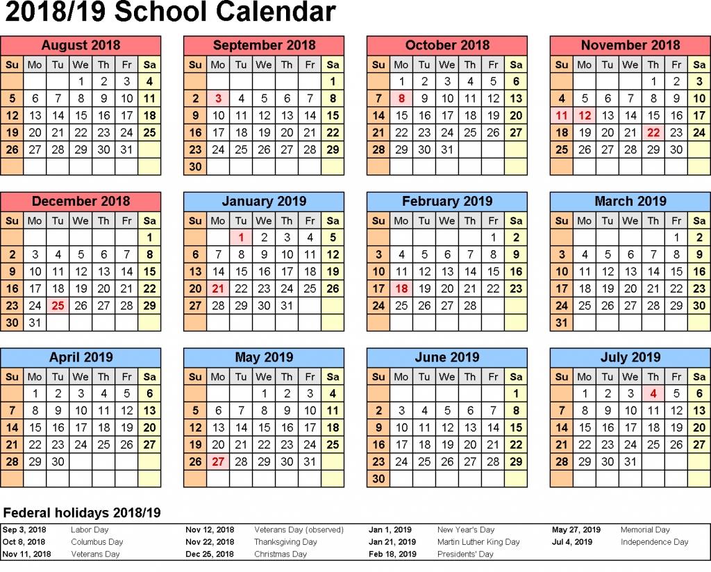 Incredible School Calendar South Africa 2019 • Printable Blank S A School Calendar 2019