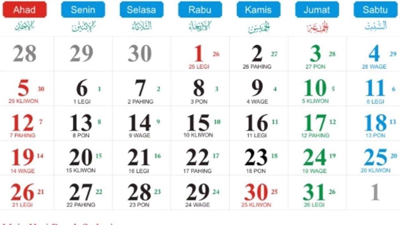 Kalender Mancing Bulan April Dan Mei 2019 - Youtube Calendar Bulan 6 2019