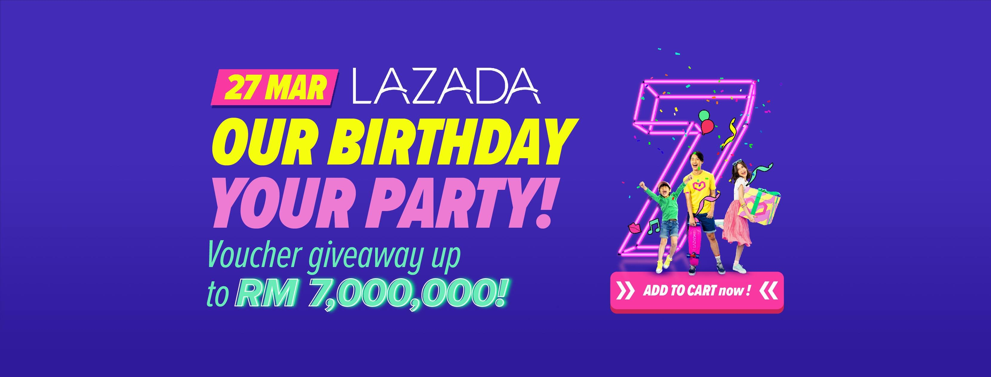 Lazada Anniversary Sale 2019 – Coupon Malaysia, Malaysia Sales Calendar 2019 Lazada