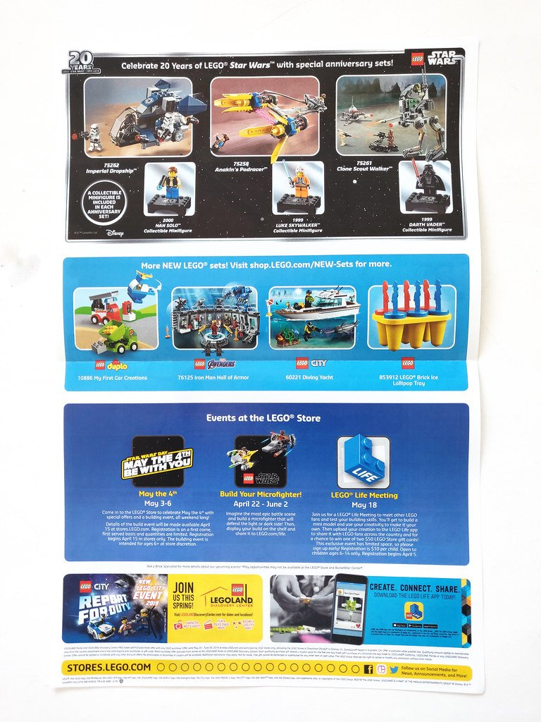 Lego May 2019 Store Calendar | Read More Here: Www.thebrickf… | Flickr Calendar 2019 In Stores