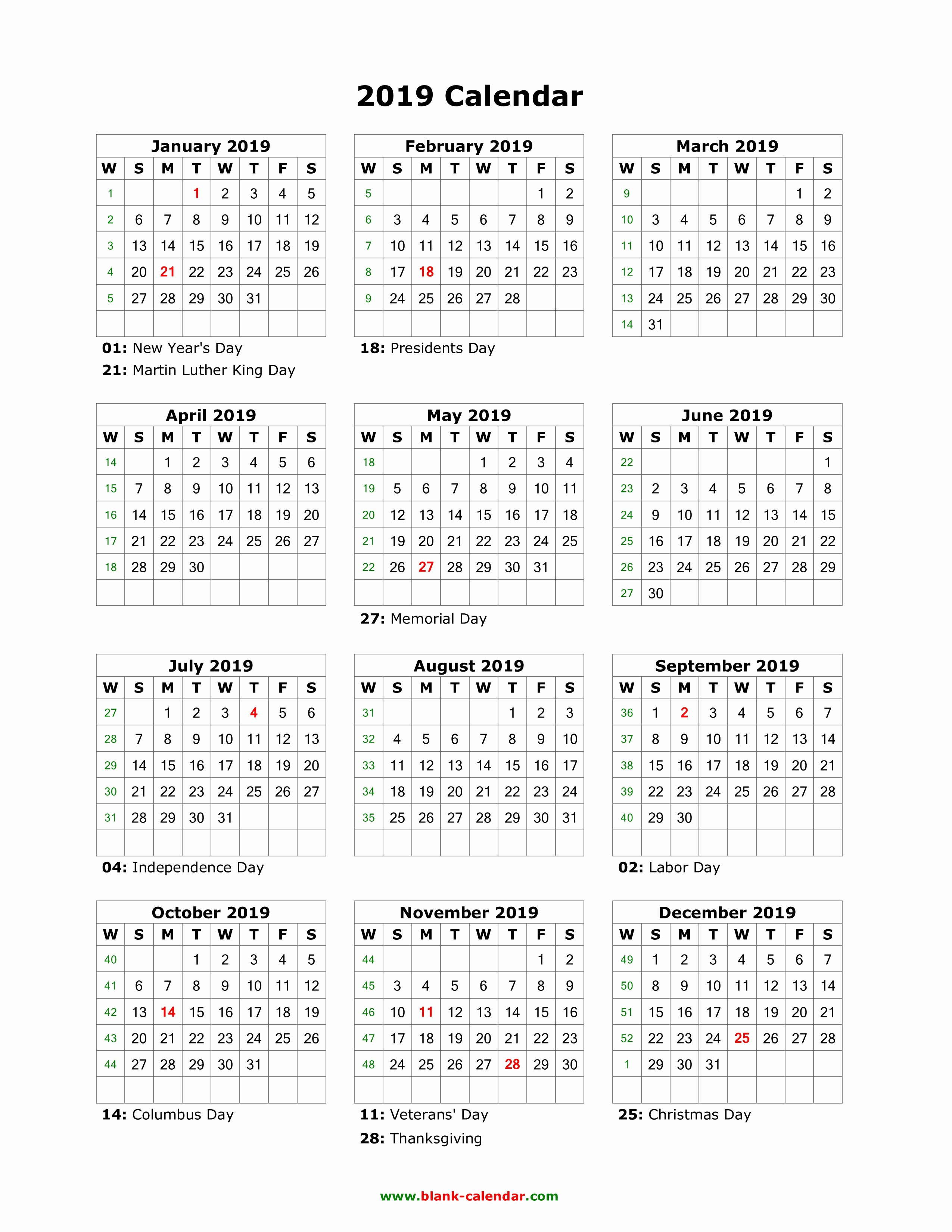 Lovely 31 Design Time And Date Printable Calendar 2019 – Blank Calendar 2019 Time And Date