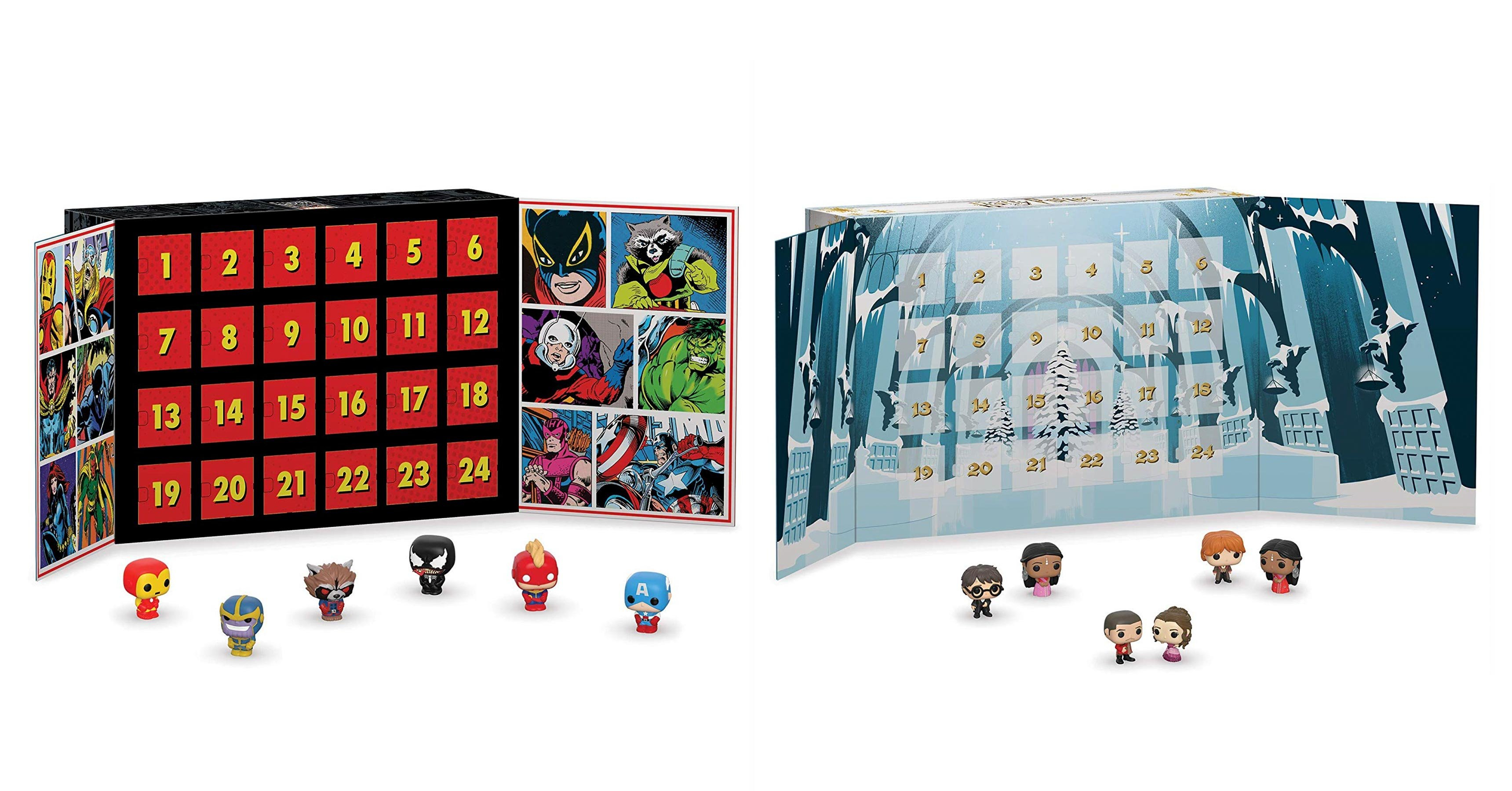 Marvel And Harry Potter Funko Advent Calendars Are Best Sellers On Calendar 2019 Amazon