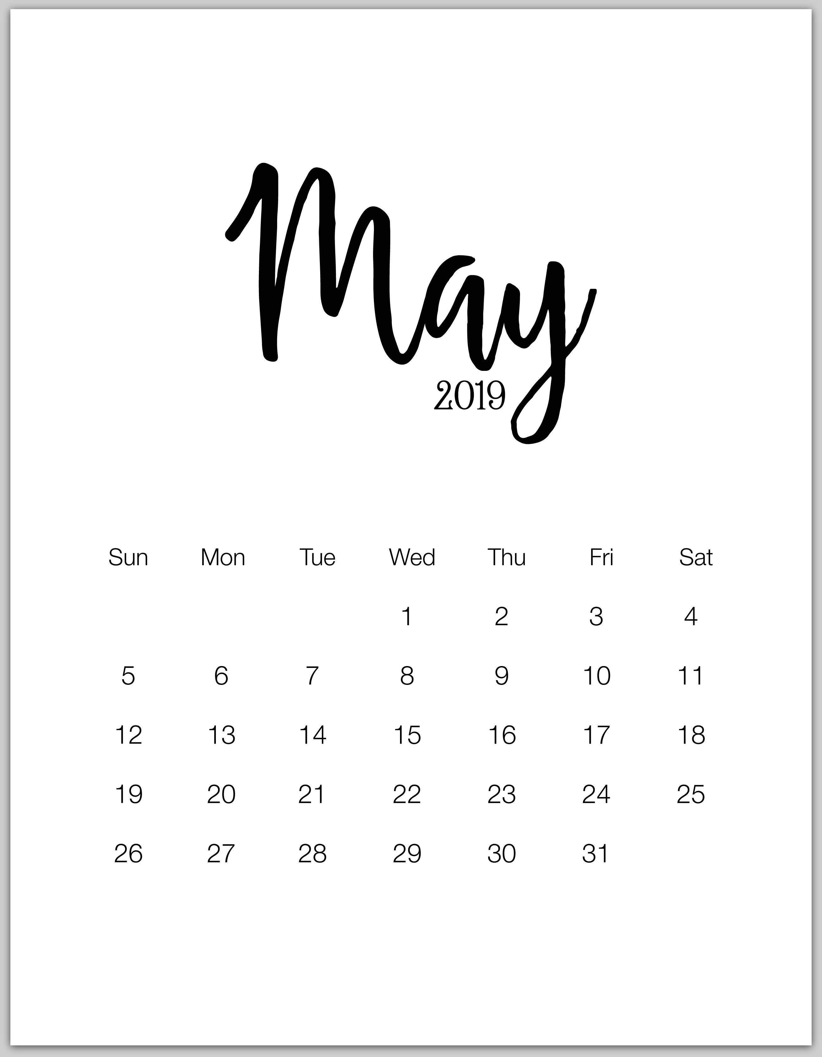 May 2019 Calendar Wallpapers – Wallpaper Cave May 8 2019 Calendar
