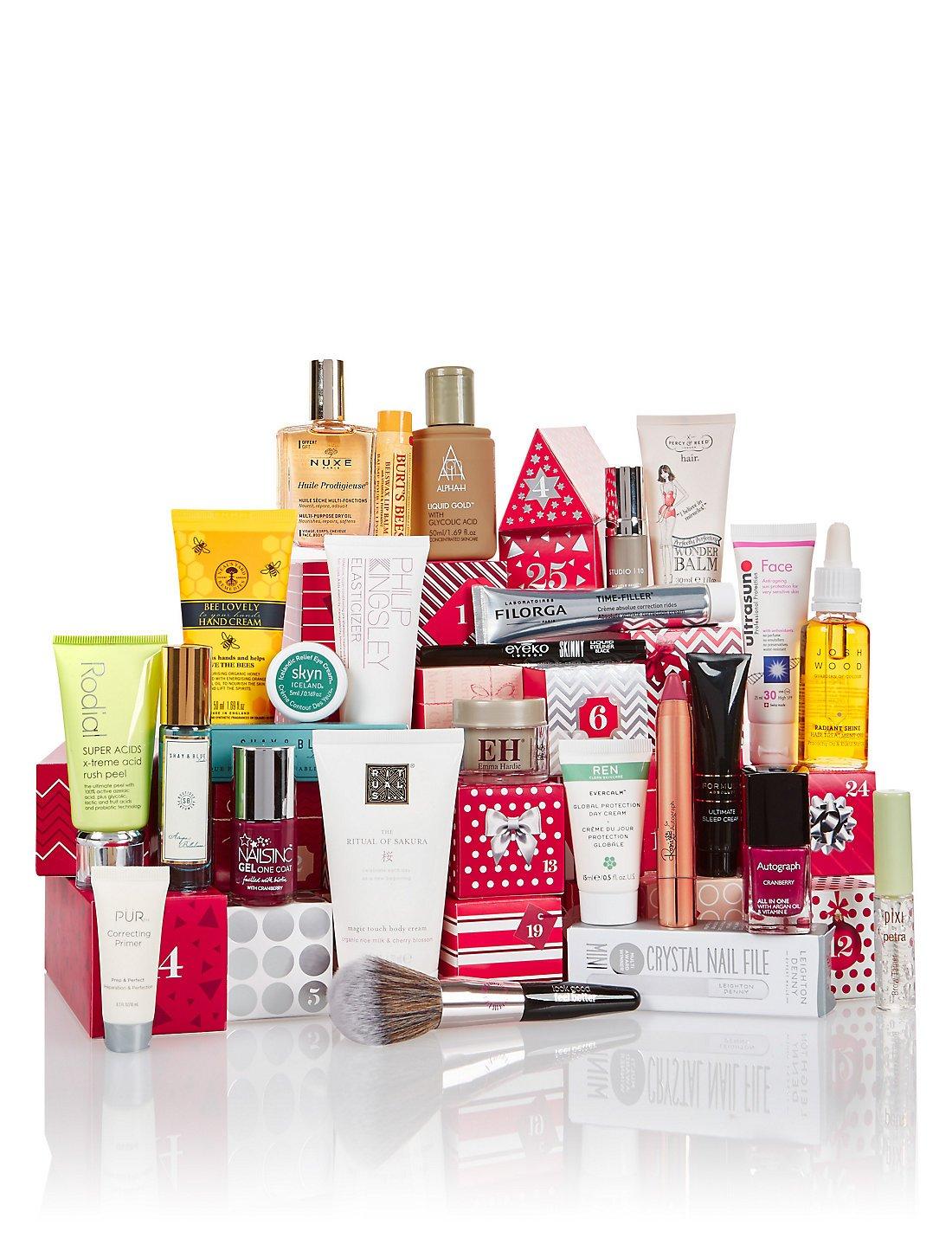 M&s Beauty Advent Calendar - £35 When You Spend £35+ | 2019 Diy How M&s Advent Calendar 2019