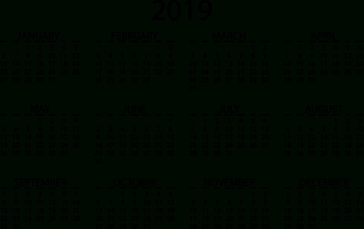 Online Calendar Video Cc0 – Area,text,monochrome Cc0 Free Download. Calendar 2019 Online