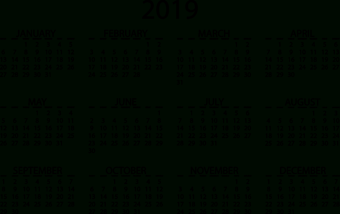 Online Calendar Video Cc0 – Area,text,monochrome Cc0 Free Download. Calendar 2019 Video