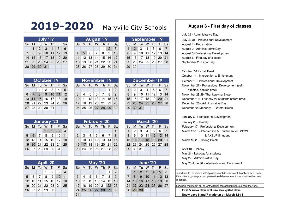 Peachjar Flyers M Day Calendar 2019