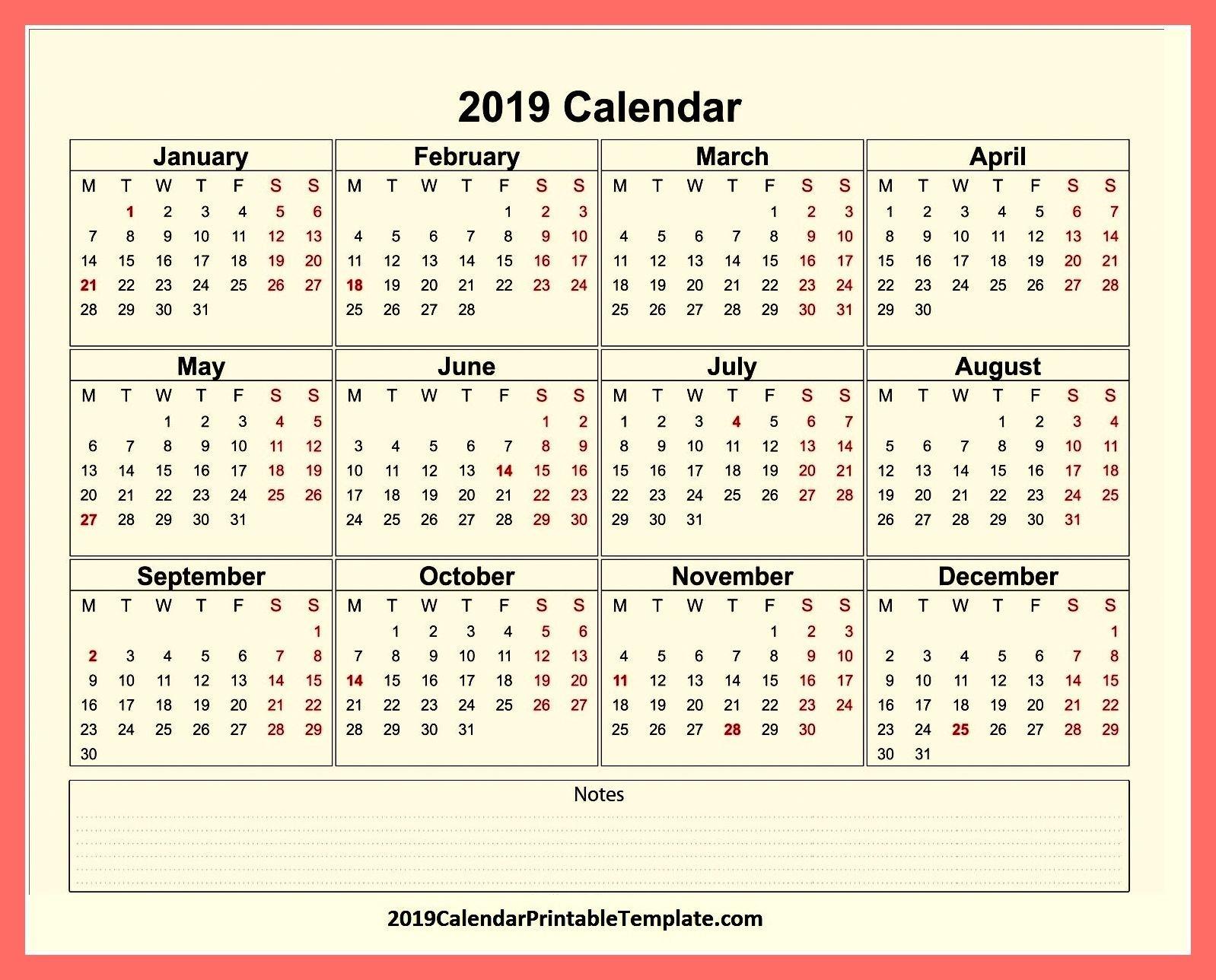 Pin2019Calendarprintabletemplate On 2019 Calendar Holidays In Calendar 2019 Roman