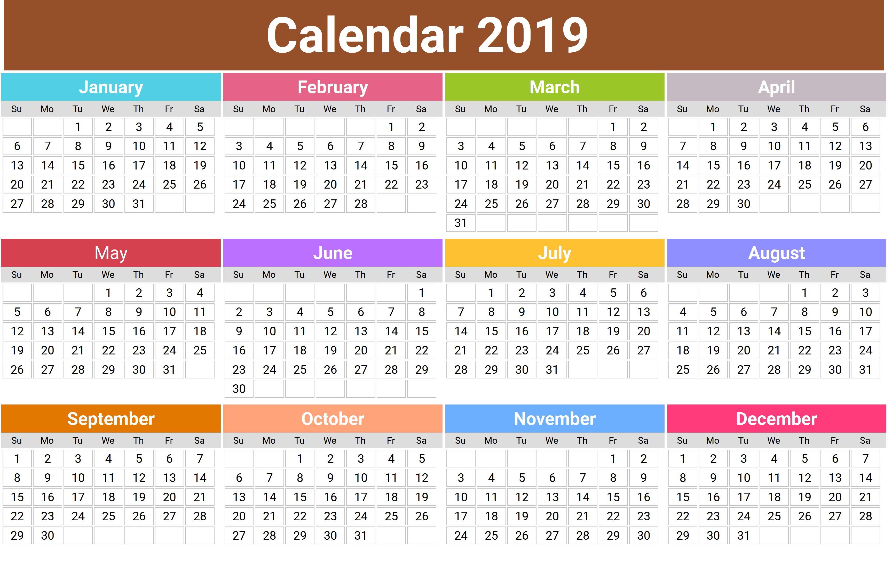 Printable Calendar 2018 Lebanon   Printable Calendar 2019 Calendar 2019 Lebanon