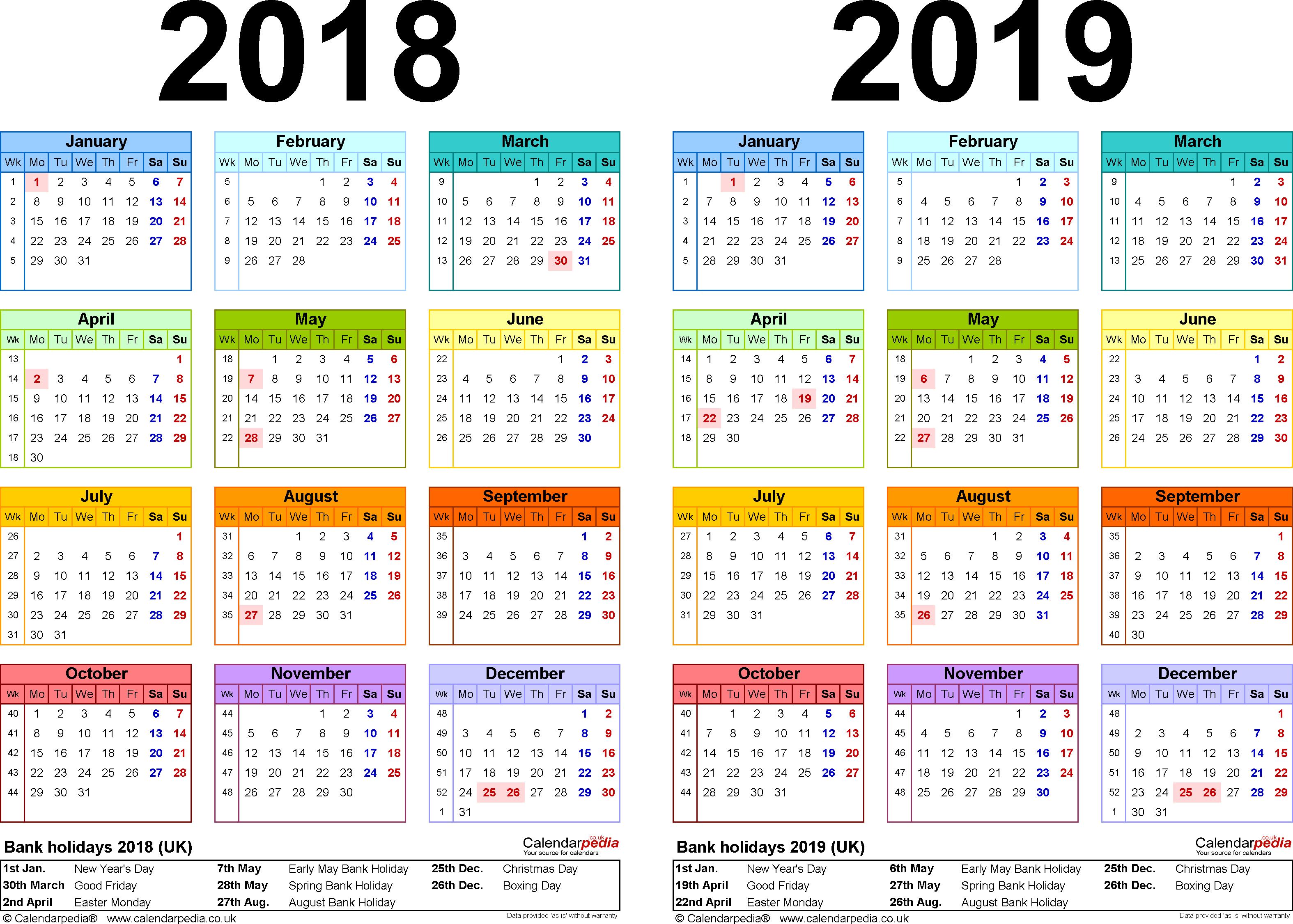 Printable Calendar 2018 Pakistan   Printable Calendar 2019 Calendar 2019 Excel Pakistan