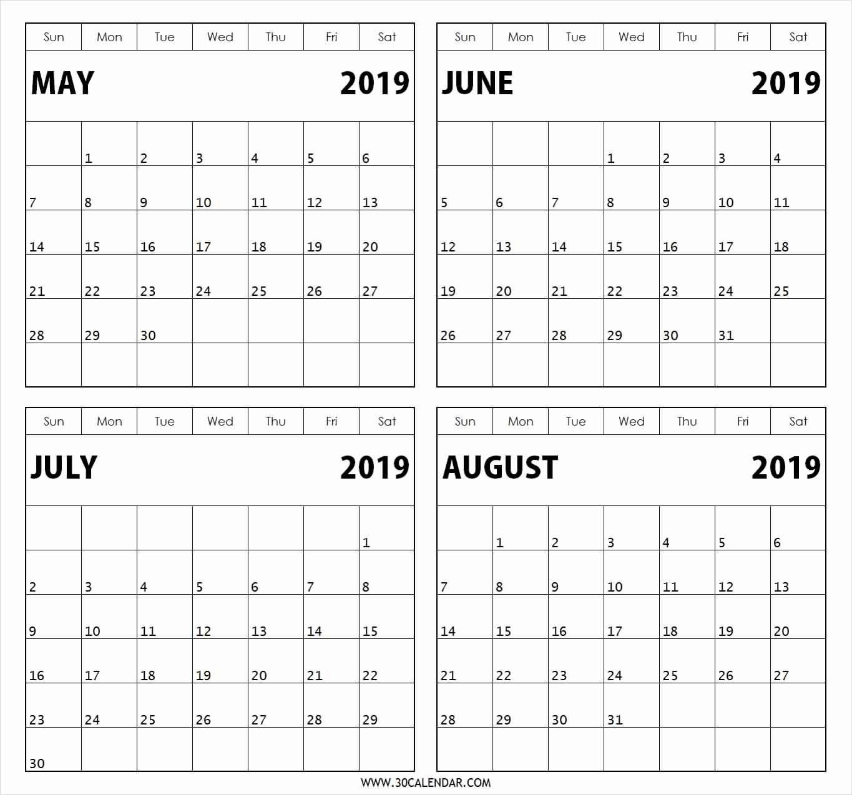 Printable Calendar 2019 2 Months Per Page   Printable Calendar 2019 Calendar 2019 2 Months Per Page