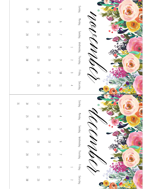 Printable Calendar 5 X 7 | Printable Calendar 2019 57 Printable 5 X 7 2019 Calendar
