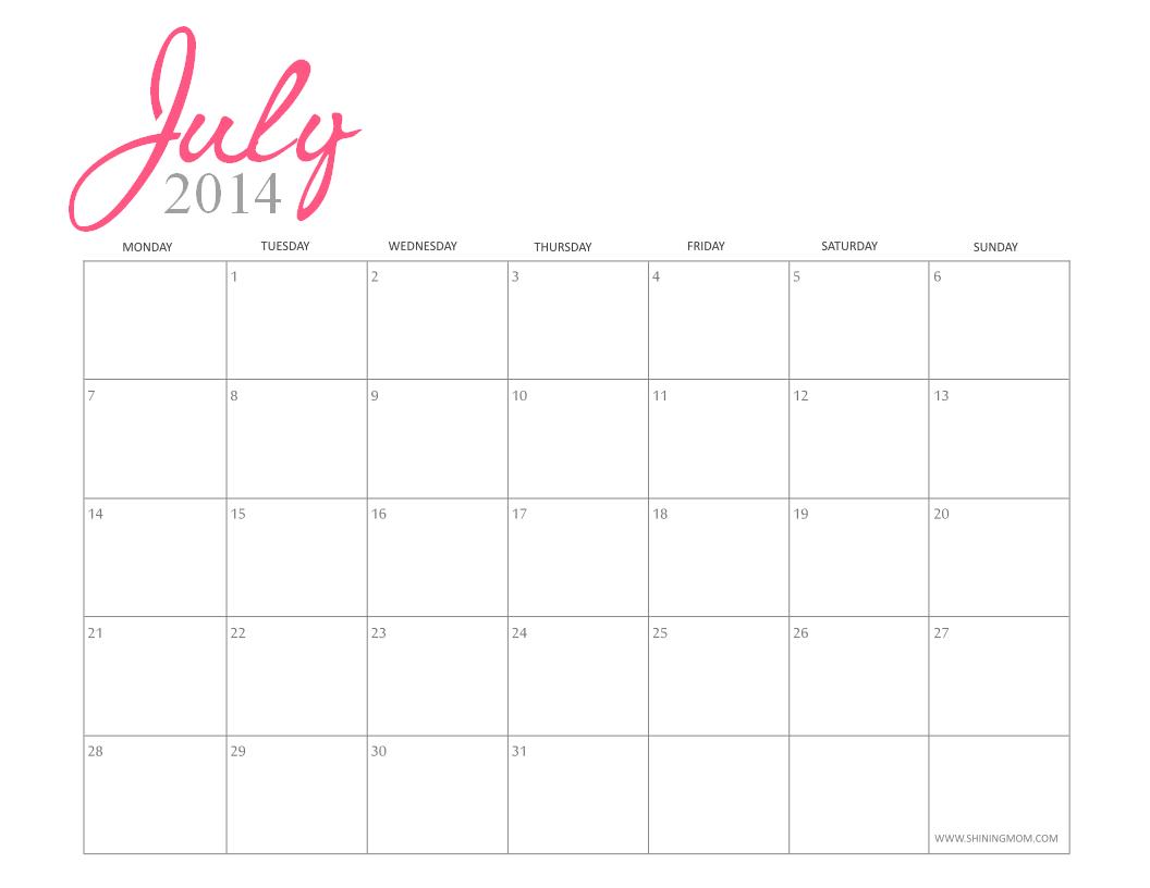 Printable Calendar Girly | Printable Calendar 2019 Calendar 2019 Girly